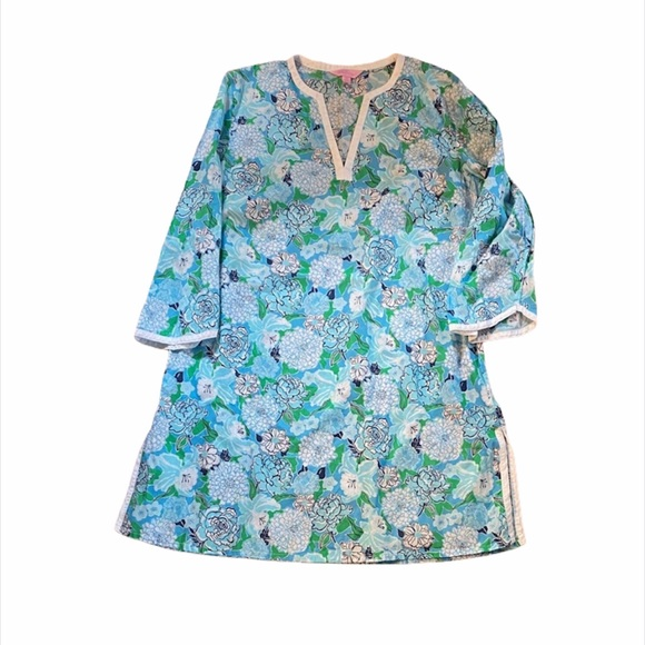 Lilly Pulitzer | floral tunic swim cover up